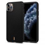 Spigen Ciel Wave Shell iPhone 11 Pro Max hátlap, tok, fekete