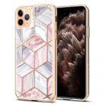 Spigen Ciel Etoile Marble iPhone 11 Pro hátlap, tok, rózsaszín