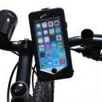 CYOO iPhone 6/6S Vízálló biciklis tartó, fekete