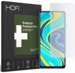Hofi Hybrid Glass Xiaomi Redmi Note 9S/9 Pro/9 Pro Max kijelzővédő edzett üvegfólia (tempered glass) 7H keménységű, átlátszó