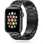 Tech-Protect Stainless Apple Watch fém 42-44mm óraszíj, fekete