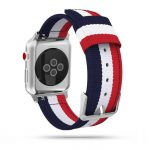 Tech-Protect Welling Apple Watch nylon 42-44mm óraszíj, kék-piros