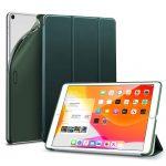 ESR iPad 10.2 (2019) Rebound oldalra nyíló smart tok, zöld