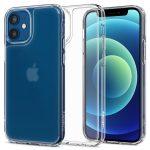 Spigen Quartz Hybrid iPhone 12/12 Pro hátlap, tok, átlátszó