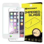 iPhone 6/6s Wozinsky PRO+ Glass Screen 5D Full Glue teljes kijelzős edzett üvegfólia, 9H keménységű, fehér