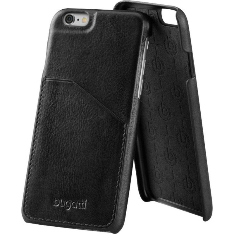 f8dcdaeece Bugatti Londra iPhone 7 Plus/8 Plus kártyatartós bőr hátlap, tok, fekete