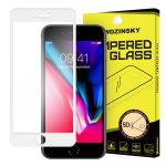 iPhone 7 Plus/8 Plus Wozinsky PRO+ Glass Screen 5D Full Glue teljes kijelzős edzett üvegfólia, 9H keménységű, fehér