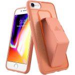 Adidas Folio Grip Case iPhone 6/7/8 hátlap, tok, korallpiros