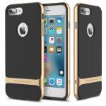 Rock iPhone 7 Plus Royce Series hátlap, tok, arany