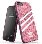 Adidas Original Gazelle Snake iPhone 6/6s/7/8/SE (2020) hátlap, tok, rózsaszín