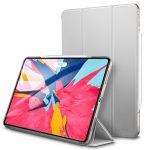 ESR Yippee Series iPad Pro 12.9 (2018) oldalra nyíló okos tok, ezüst