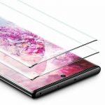 ESR Samsung Galaxy Note 10 Full Coverage Glass Film teljes kijelzős üvegfólia, fekete (2 db)