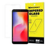 Wozinsky Xiaomi Redmi 6/6A kijelzővédő edzett üvegfólia (tempered glass) 9H keménységű (nem teljes kijelzős 2D sík üvegfólia), átlátszó