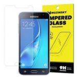 Wozinsky Samsung Galaxy J3 (2016) kijelzővédő edzett üvegfólia (tempered glass) 9H keménységű (nem teljes kijelzős 2D sík üvegfólia)