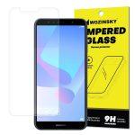 Huawei Y6 (2018) Wozinsky kijelzővédő edzett üvegfólia (tempered glass) 9H keménységű (nem teljes kijelzős 2D sík üvegfólia), átlátszó