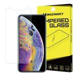 Wozinsky iPhone 11 Pro Max/iPhone Xs Max kijelzővédő edzett üvegfólia (tempered glass) 9H keménységű (nem teljes kijelzős 2D sík üvegfólia), átlátszó