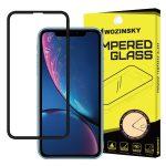 iPhone XR/11 Wozinsky PRO+ Glass Screen 5D Full Glue teljes kijelzős edzett üvegfólia, 9H keménységű, fekete