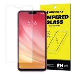 Wozinsky Xiaomi Mi 8 lite kijelzővédő edzett üvegfólia (tempered glass) 9H keménységű (nem teljes kijelzős 2D sík üvegfólia), átlátszó