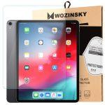 Wozinsky iPad Pro 12,9 (2018) edzett üvegfólia (tempered glass) 9H keménységű, átlátszó