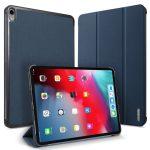 Dux Ducis Domo Series iPad Pro 11 (2018) oldalra nyíló smart tok, kék