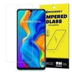 Wozinsky Huawei P30 Lite kijelzővédő edzett üvegfólia (tempered glass), 9H keménységű (nem teljes kijelzős 2D sík üvegfólia)