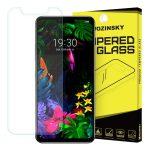 Wozinsky LG G8 kijelzővédő edzett üvegfólia (tempered glass) 9H keménységű (nem teljes kijelzős 2D sík üvegfólia), átlátszó