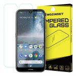 Wozinsky Nokia 4.2 kijelzővédő edzett üvegfólia (tempered glass) 9H keménységű (nem teljes kijelzős 2D sík üvegfólia), átlátszó