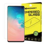 Wozinsky 3D Screen Protector Film Samsung Galaxy S10 3D teljes kijelzős védőfólia, ujjlenyomatbarát, átlátszó