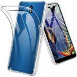 LG K40 Ultra Clear 0.5mm szilikon hátlap, tok, átlátszó