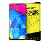 Wozinsky Samsung Galaxy M10 kijelzővédő edzett üvegfólia (tempered glass) 9H keménységű (nem teljes kijelzős 2D sík üvegfólia), átlátszó