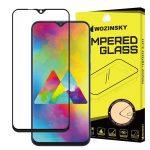 Wozinsky Glass Screen 5D Full Glue Samsung Galaxy M10 teljes kijelzős edzett üvegfólia, 9H keménységű, tokbarát, fekete