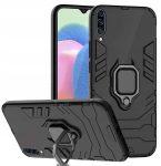 Armor Ring Magnetic iPhone 7/8/Se 2020 ütésálló hátlap, tok, fekete