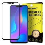 Wozinsky Huawei P Smart Plus 5D Full Glue teljes kijelzős edzett üvegfólia (tempered glass) 9H keménységű, tokbarát, fekete