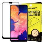 Wozinsky Glass Screen 5D Full Glue Samsung Galaxy A10 teljes kijelzős edzett üvegfólia, 9H keménységű, tokbarát, fekete