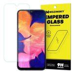 Wozinsky Samsung Galaxy A10 kijelzővédő edzett üvegfólia (tempered glass) 9H keménységű (nem teljes kijelzős 2D sík üvegfólia), átlátszó