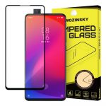 Wozinsky Xiaomi Mi 9T Pro/Mi 9T Glass Screen 5D Full Glue teljes kijelzős edzett üvegfólia (tempered glass), 9H keménységű, tokbarát, fekete