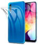 Samsung Galaxy A10 Ultra Slim 0,5mm szilikon hátlap, tok, átlátszó