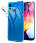 Samsung Galaxy A10 Super Slim 0.5mm szilikon hátlap, tok, átlátszó