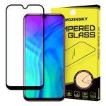 Wozinsky Huawei Honor 20 Lite 5D Full Glue teljes kijelzős edzett üvegfólia (tempered glass) 9H keménységű, tokbarát, fekete