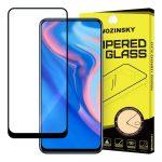 Wozinsky Huawei P Smart Z / P Smart Pro 2019 / Honor 9X  Glass Screen 5D Full Glue teljes kijelzős edzett üvegfólia (tempered glass), 9H keménységű, tokbarát, fekete