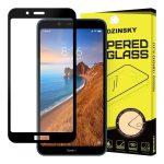 Wozinsky Xiaomi Redmi 7A 5D Full Glue teljes kijelzős edzett üvegfólia (tempered glass) 9H keménységű, tokbarát, fekete