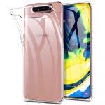 Samsung Galaxy A80 Ultra Slim 0,5mm szilikon hátlap, tok, átlátszó