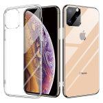 iPhone 11 Pro Max Ultra Clear 0,5mm szilikon hátlap, tok, átlátszó
