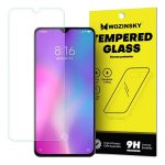 Wozinsky Xiaomi Mi 9 Lite/Mi CC9 kijelzővédő edzett üvegfólia (tempered glass) 9H keménységű (nem teljes kijelzős 2D sík üvegfólia), átlátszó