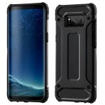 Hybrid Armor Tough Rugged iPhone 11 ütésálló hátlap, tok, fekete