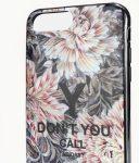 Adidas Y-3 Snap Case Graphic iPhone 6 Plus/6S Plus/7 Plus/8 Plus virág mintás, hátlap, tok, színes