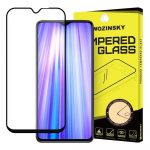 Wozinsky Xiaomi Redmi Note 8 Pro 5D Full Glue teljes kijelzős edzett üvegfólia (tempered glass) 9H keménységű, tokbarát, fekete