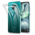 Nokia 7.2/6.2 Super Slim 0.5mm szilikon hátlap, tok, átlátszó