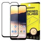 Wozinsky Nokia 2.3 5D Full Glue teljes kijelzős edzett üvegfólia (tempered glass) 9H keménységű, tokbarát, fekete