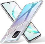 Samsung Galaxy Note 10 Lite Ultra Clear 0.5mm szilikon hátlap, tok, átlátszó